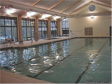 Image 20 24 indoor pool sauna jacuzzi inside fitness for Big canoe lodge