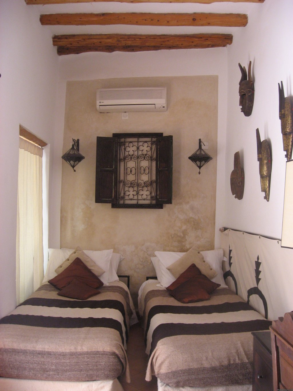 Stunning three bedroom renovated riad located in the heart of Marrakech's medina.