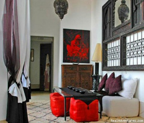 Galleried Landing - Riad Fawakay