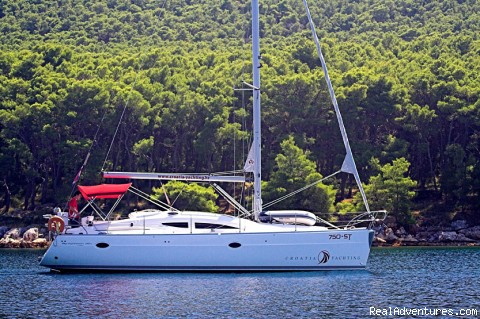Elan 384 in Split Croatia (#1 of 2) - Croatia Yacht charter - Sailing Croatia
