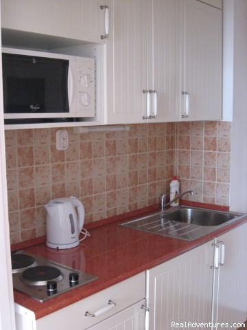 Fully equipped kitchen - Castle View Studio in the centre of Budapest