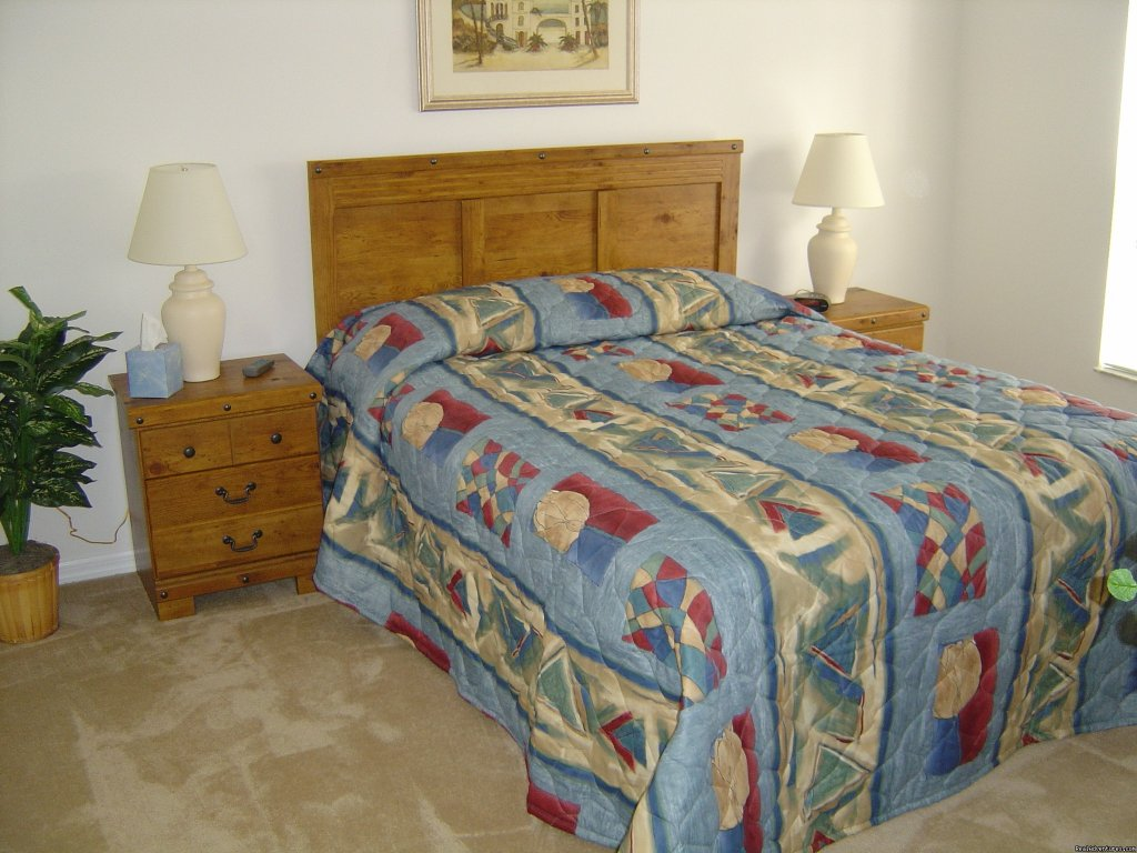 Mater Bedroom | Image #4/6 | Florida Golf Villa with Pool Nr Theme Parks