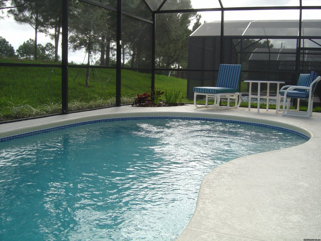 Pool | Image #3/6 | Florida Golf Villa with Pool Nr Theme Parks