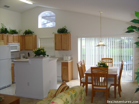 Kitchen / Diner - Florida Golf Villa with Pool Nr Theme Parks