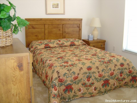 Bedroom Two - Florida Golf Villa with Pool Nr Theme Parks