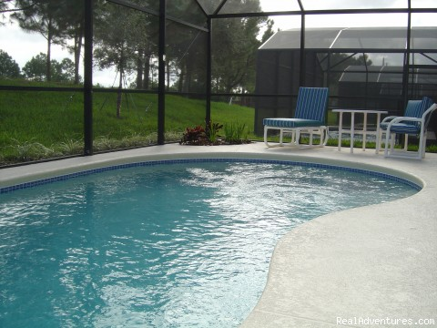Pool - Florida Golf Villa with Pool Nr Theme Parks