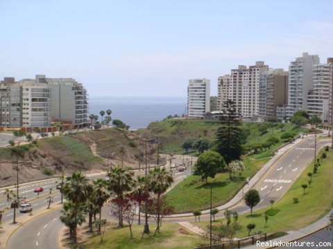 Actual View from Master Bedroom (#1 of 12) - Brand new Ocean View Condo in Miraflores