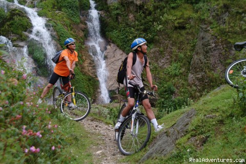 Mountain biking in Sikkim - trekking and mountaineering in Sikkim India