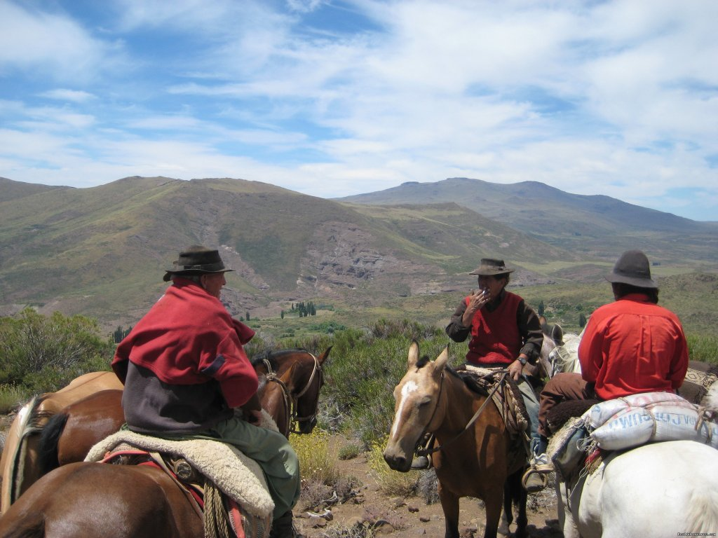 Image #14/20 | Horse trekking into the Andes