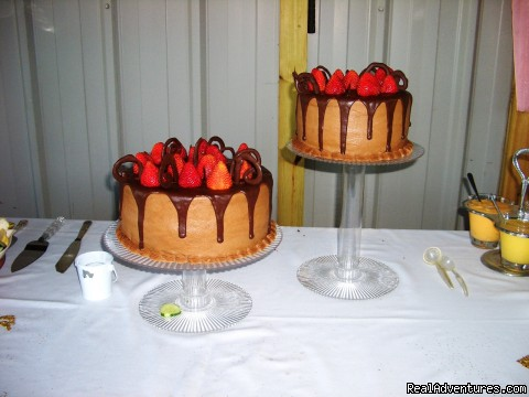 Delicious grooms cake - Cart Barn Inn