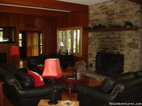 Living Room - Colonel Weber Ski Lodge