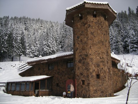 Oregon Wilderness Castle Retreat : castle in white
