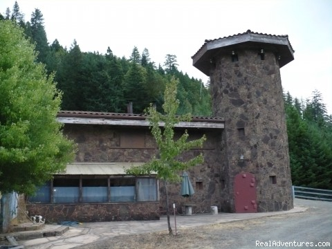 castle in the woods -  Oregon Wilderness Castle Retreat