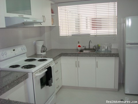 Kitchen - NEW 2 bd 3 bth duplex just behind the JW Marriott