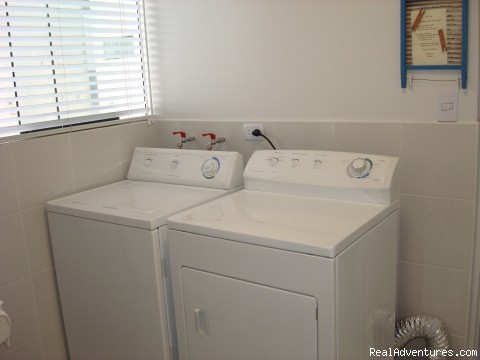 Laundry room  - NEW 2 bd 3 bth duplex just behind the JW Marriott