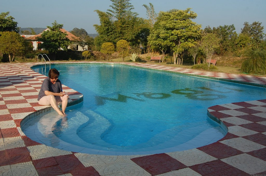 Swimming pool | Image #4/17 | Mogli wildlife resort, Kanha and Bandhavgarh,India