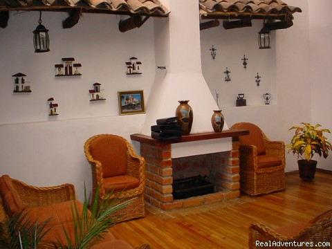 Casa Ordoñez is a colonial spanish house B&B