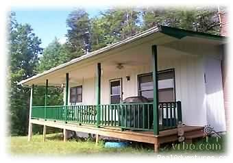 Front of Cabin - 2-bed, 2-bath Smoky Mountains Cabin-Great Views