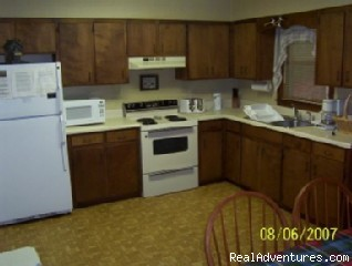 Full Kitchen - 2-bed, 2-bath Smoky Mountains Cabin-Great Views
