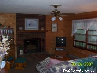 Living Room - 2-bed, 2-bath Smoky Mountains Cabin-Great Views