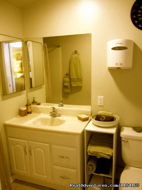 Cedar Suite Bath room - Yoga Boot Camp, Spa Getaway Packages, & more