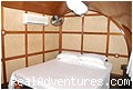 BED ROOM - House Boat Cruise Kerala Kumarakom Allapuzha