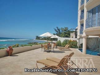 Sun Deck - Picturesque Beach Front Barbados 2 - Bdrm Condo