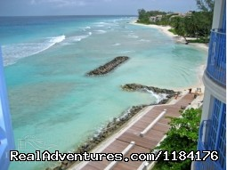 Boardwalk/Ocean View (#3 of 14) - Picturesque Beach Front Barbados 2 - Bdrm Condo