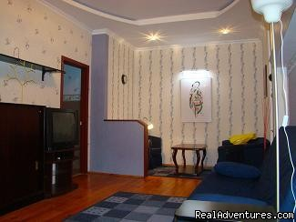Living-room - 2-Room Premium Apartment for 55eur/day