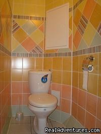 Bathroom - 2-Room Premium Apartment for 55eur/day