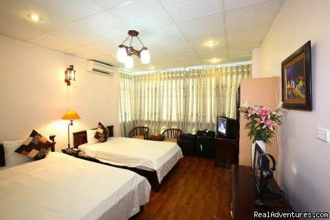 Hanoi Lucky Hotel: Deluxe room