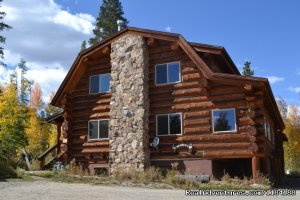 Cozy Colorado Log Cabin for All Seasons Vacation Rentals Silverthorne, Colorado