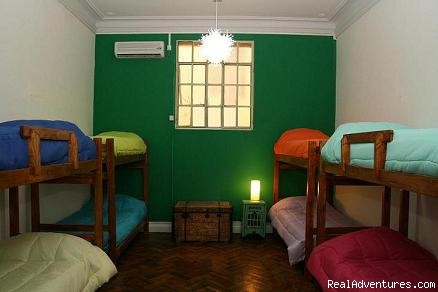 Our mixed dorm  - Rayuela Hostel - The Buenos Aires Experience