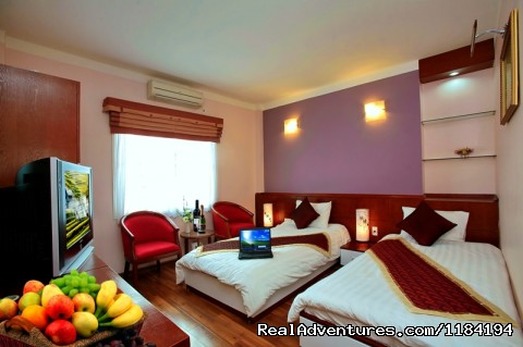 Luxury Twin Room - Hanoi Gecko Hotel