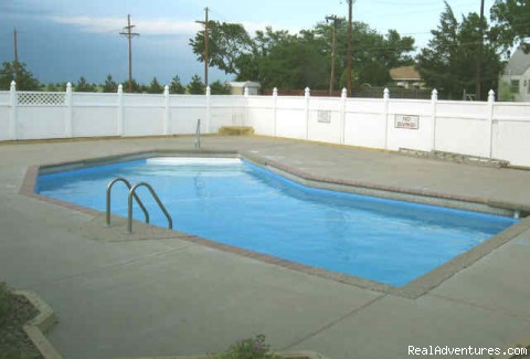 The Pool (#5 of 6) - 1st Travel Inn, Oakley, KS