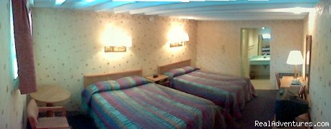 A room example - 1st Travel Inn, Oakley, KS