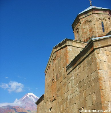 Exotour - Travel to Tbilisi, Georgia: Architecture exploring in Kazbegi