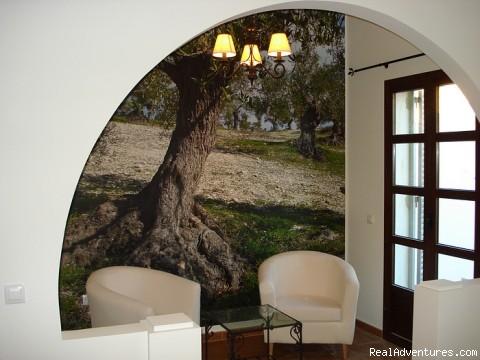 Cortijo Escondido in Arcos de la Frontera Sitting Corner Charming Room Olivo