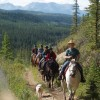 Old Entrance Trail Rides near Jasper National Park Horseback Riding Hinton, Alberta