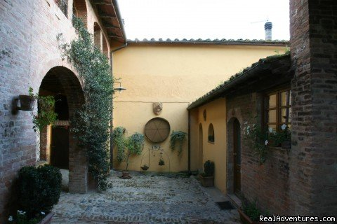Court | Image #8/12 | Romantic weeks  in Agriturismo  Renaccino