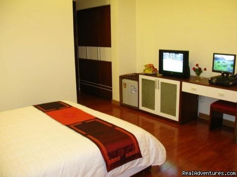 Deluxe Double - Hanoi Serenity Hotel - Hanoi Old Quater