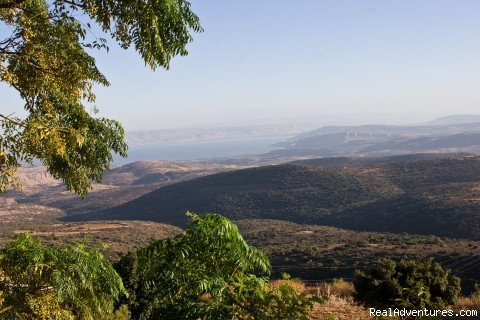 Our view - The sea of galilee and the lower galilee mountain - Amirey hagalil spa hotel