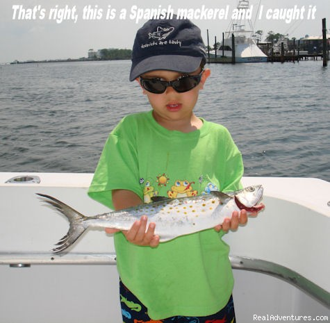 Family fun and fishing - Gulf Shores fishing on your family vacation