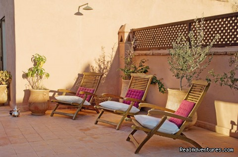 Terrace - Riad and SPA Mandalay