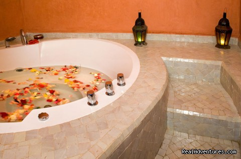 Jacuzzi  - Riad and SPA Mandalay