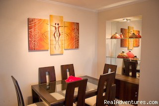 Dining - Luxury Apartment to rent in Lima.