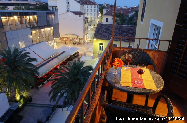 Private Balcony - A lovely apartment Marmont in heart of town Split