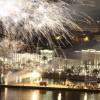 fireworks on Riva ( sea port)