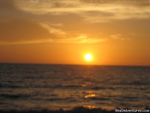 Golden Sunset - Vacation on the Mexican Riviera - Ocean Views