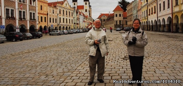 Lovely Canadian couple in Telc, private czech tour (#5 of 9) - Europe  private tours